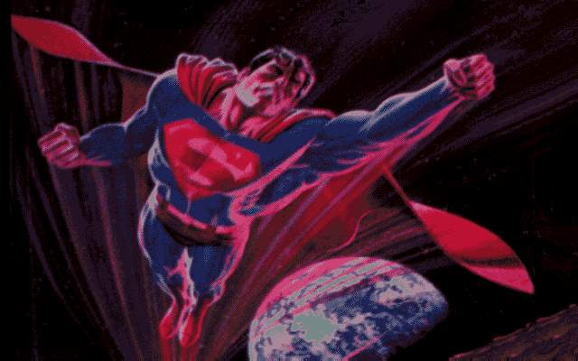 [Picture of Superman (Super-Jeppe?)]